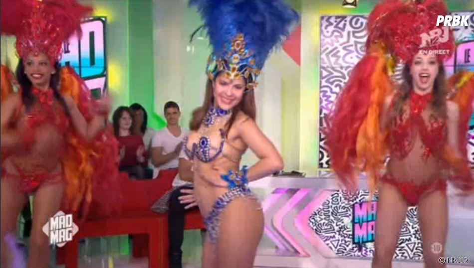 Gyselle Soares met le feu au Mad Mag.