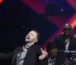 Justin Timberlake a mis le feu sur le plateau de l'Eurovision le 14 mai 2016