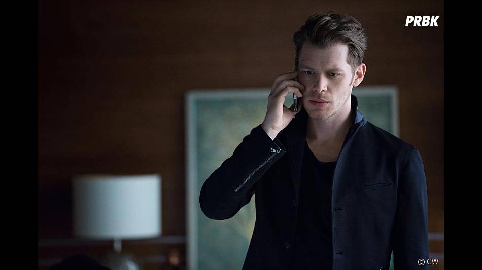 The Originals saison 3, épisode 22 : Klaus (Joseph Morgan) sur une photo