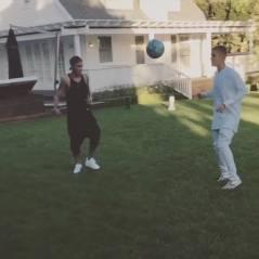 Justin Bieber : petite séance de foot OKLM avec Neymar