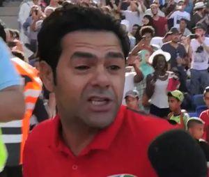 Jamel Debbouze a réuni footballeurs et people pour un match de foot caritatif.