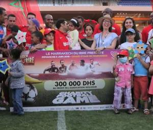 Jamel Debbouze a réussi à récolter 300.000 dirhams au Football Charity Game 2016.