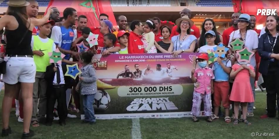 Jamel Debbouze a réussi à récolter 300.000 dirhams au Football Charity Game 2016.