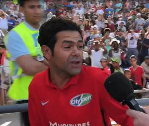 Jamel Debbouze au Football Charity Game 2016.