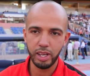 Younès au Football Charity Game 2016.