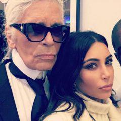 Kim Kardashian et Kanye West à Paris pour un projet secret avec Karl Lagerfeld