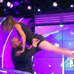 Caroline Ithurbide : sa grosse chute sur le porté de Dirty Dancing avec Mokhtar dans TPMP