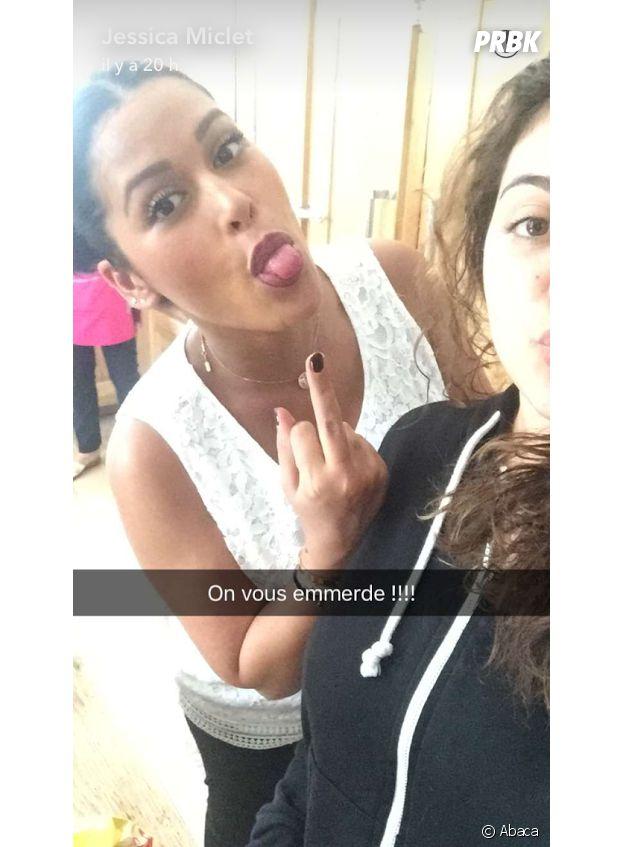 Ayem Nour énervée : sa réponse aux haters sur Snapchat
