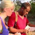 Elodie et Greg dans le dernier épisode de Moundir et les apprentis aventuriers sur W9.