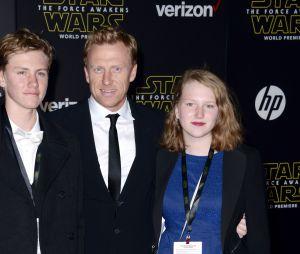 Kevin McKidd (Grey's Anatomy) et ses deux enfants Joseph et Iona