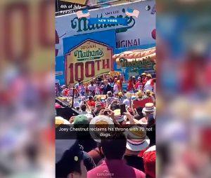 Les internautes fêtent le 4 juillet sur Snapchat
