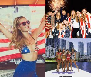 Les stars et les américains fêtent le 4 juillet