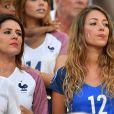Camille Sold en tribune au Stade de France pour soutenir son fiancé Morgan Schneiderlin