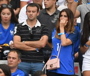 Marine Lloris en plein stress pendant le match France-Portugal