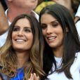 Marine Lloris et Ludivine Sagna à la finale de l'Euro 2016 dimanche 10 juillet