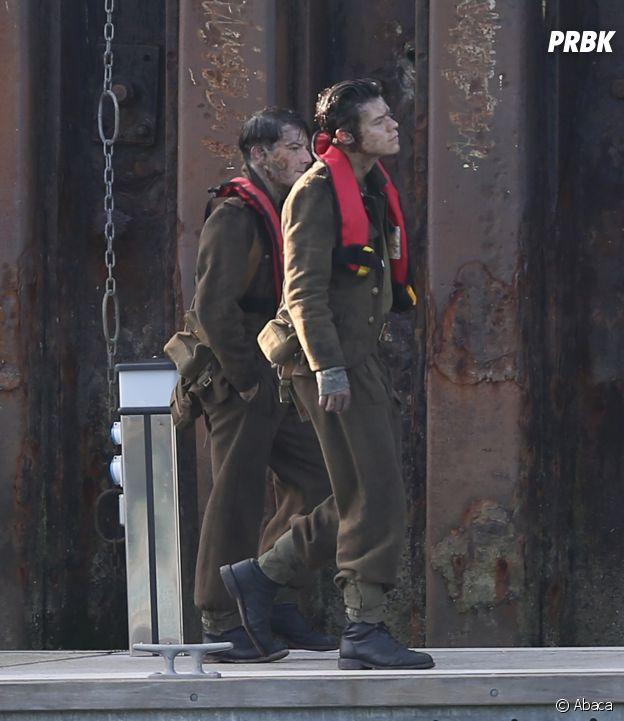 Harry Styles en plein tournage à Weymouth
