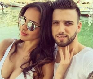 Leila Ben Khalifa et Aymeric Bonnery : leur relation aura duré plus d'un an