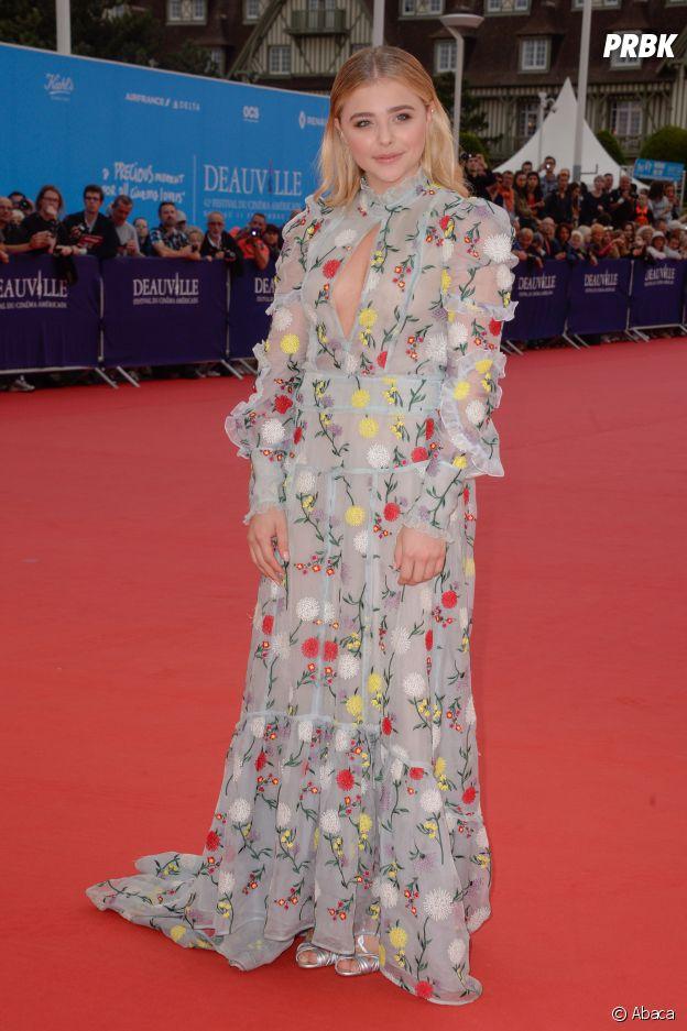 Chloë Grace Moretz à l'ouverture du Festival du film américain de Deauville le 2 septembre 2016