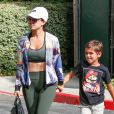 Kourtney Kardashian et son fils Mason