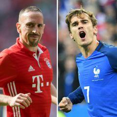 Antoine Griezmann : en mode melon, Franck Ribéry tacle la star des Bleus