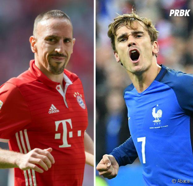"""Antoine Griezmann clashé par Ribéry : ce n'est pas un joueur de """"classe mondiale"""""""