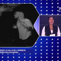 Amélie Neten et Benoît Dubois enfermés dans le noir, ils deviennent hystériques 😱