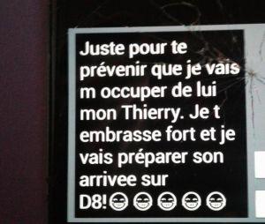 Stéphane Guillon publie un SMS envoyé selon lui par Cyril Hanouna