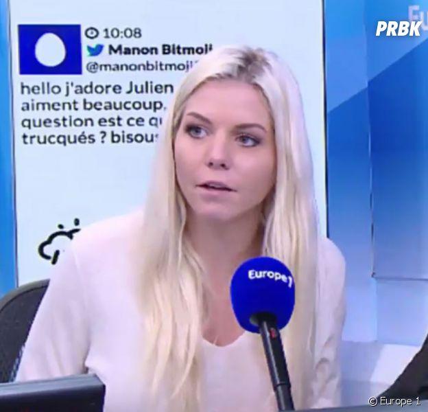 Julien Tanti et Jessica Thivenin parlent des salaires des candidats des Marseillais sur Europe 1 le mardi 25 octobre 2016