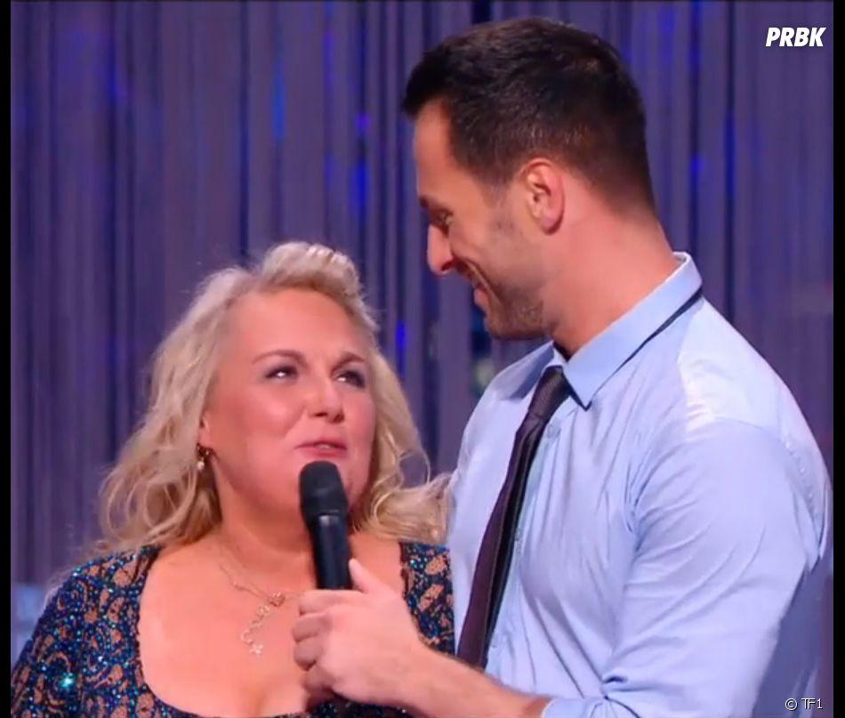 Valérie Damidot (Danse avec les stars 7) aux côtés de Christian Millette, son partenaire de danse.