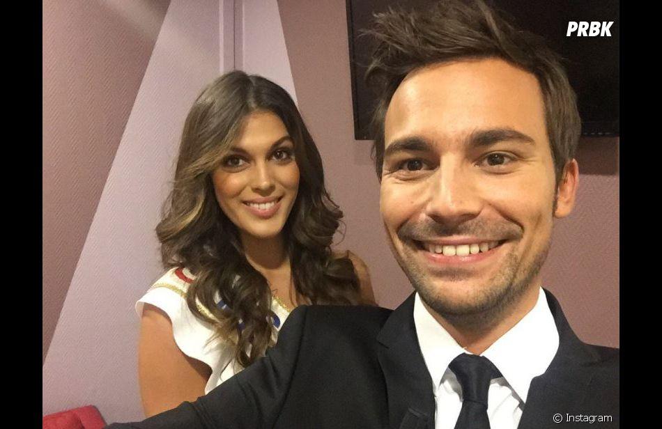Bertrand Chameroy (OFNI) et  Iris Mittenaere (Miss France 2016).