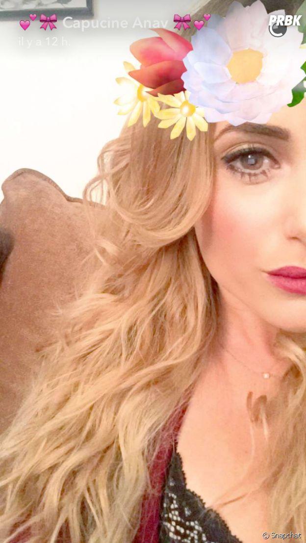 Capucine Anav devient blonde en direct sur Snapchat !
