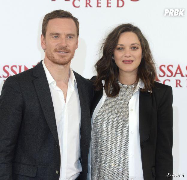 Michael Fassbender et Marion Cotillard à une avant-première d'Assassin's Creed
