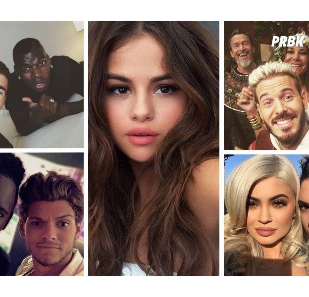 Les selfies des stars en 2016