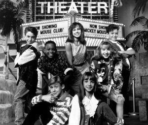 Ryan Gosling avec Britney Spears, Justin Timberlake et Christina Aguilera à l'époque du Mickey Mouse Club