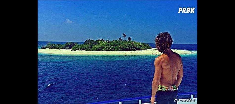 Laurent Maistret en vacances aux Maldives