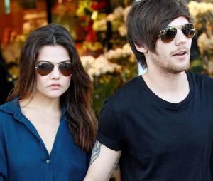 Louis Tomlinson en couple avec Danielle Campbell dans les rues de Los Angeles le 20 février 2016