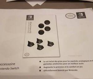 Tous les accessoires officiels de la Nintendo Switch