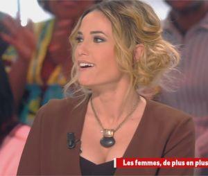 Capucine Anav choque Camille Combal dans Il en pense quoi Camille le 11 janvier 2017