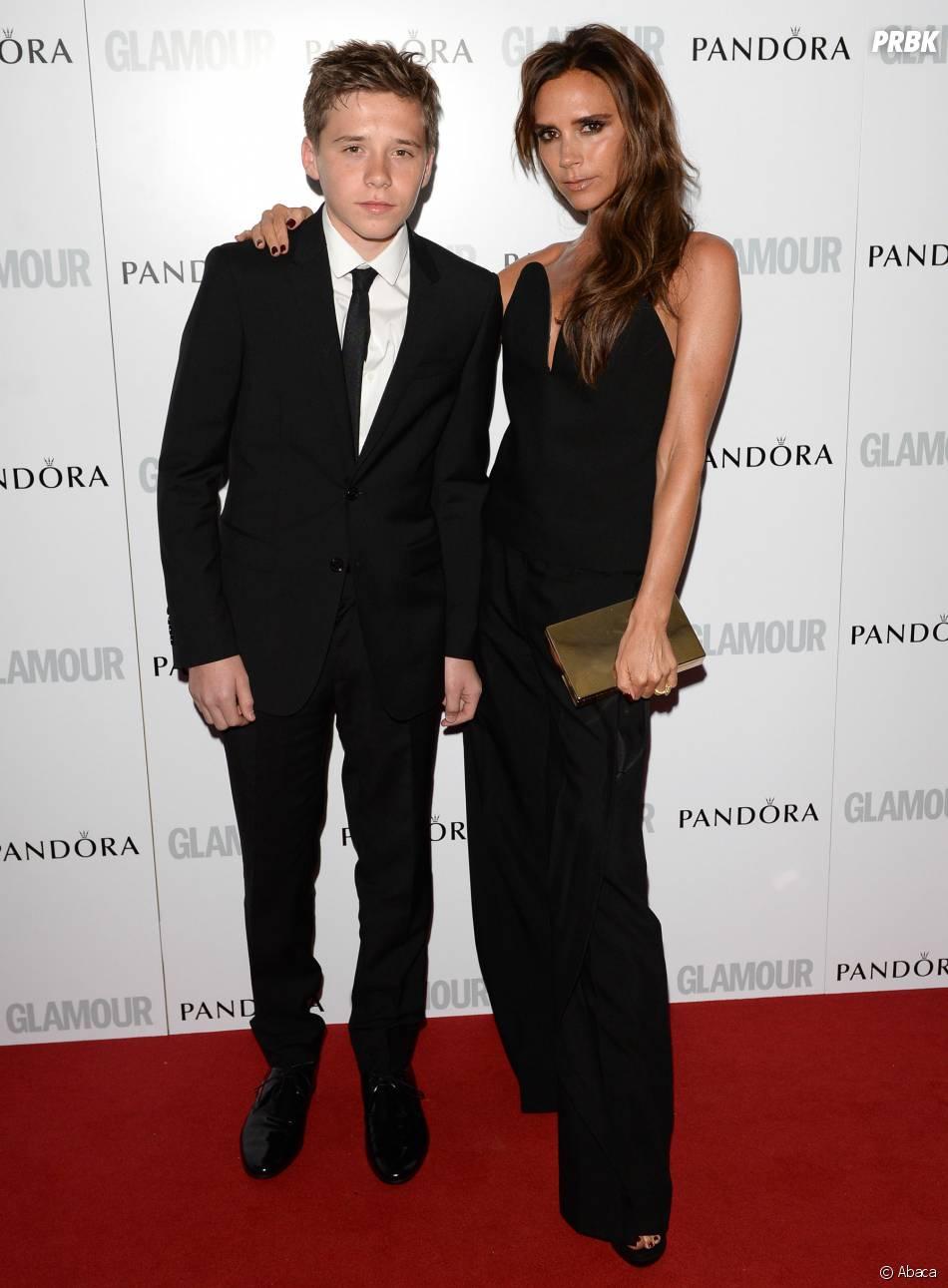 Brooklyn Beckham et sa mère Victoria très complices