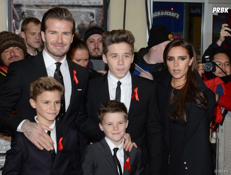 Brooklyn Beckham moqué par son père David sur Instagram