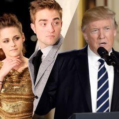 """Kristen Stewart tacle encore Donald Trump : """"Il est amoureux de Robert Pattinson"""""""
