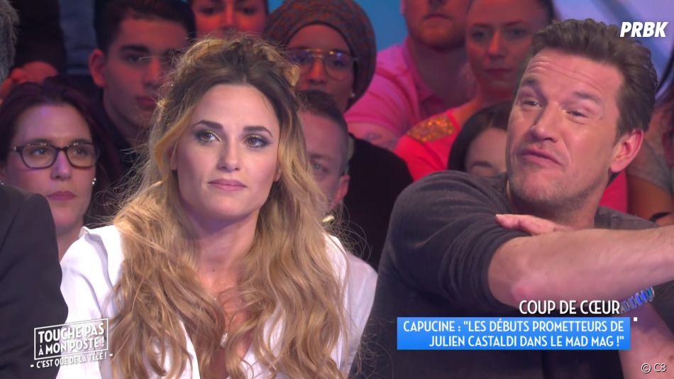 Capucine Anav craque professionnellement pour Julien Castaldi