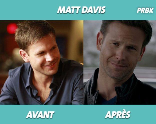 The Vampire Diaris : Matt Davis avant/après