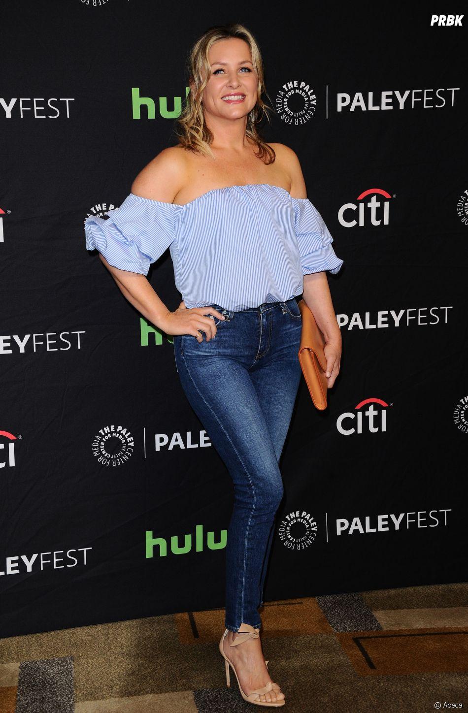 Jessica Capshaw au PaleyFest le 19 mars 2016