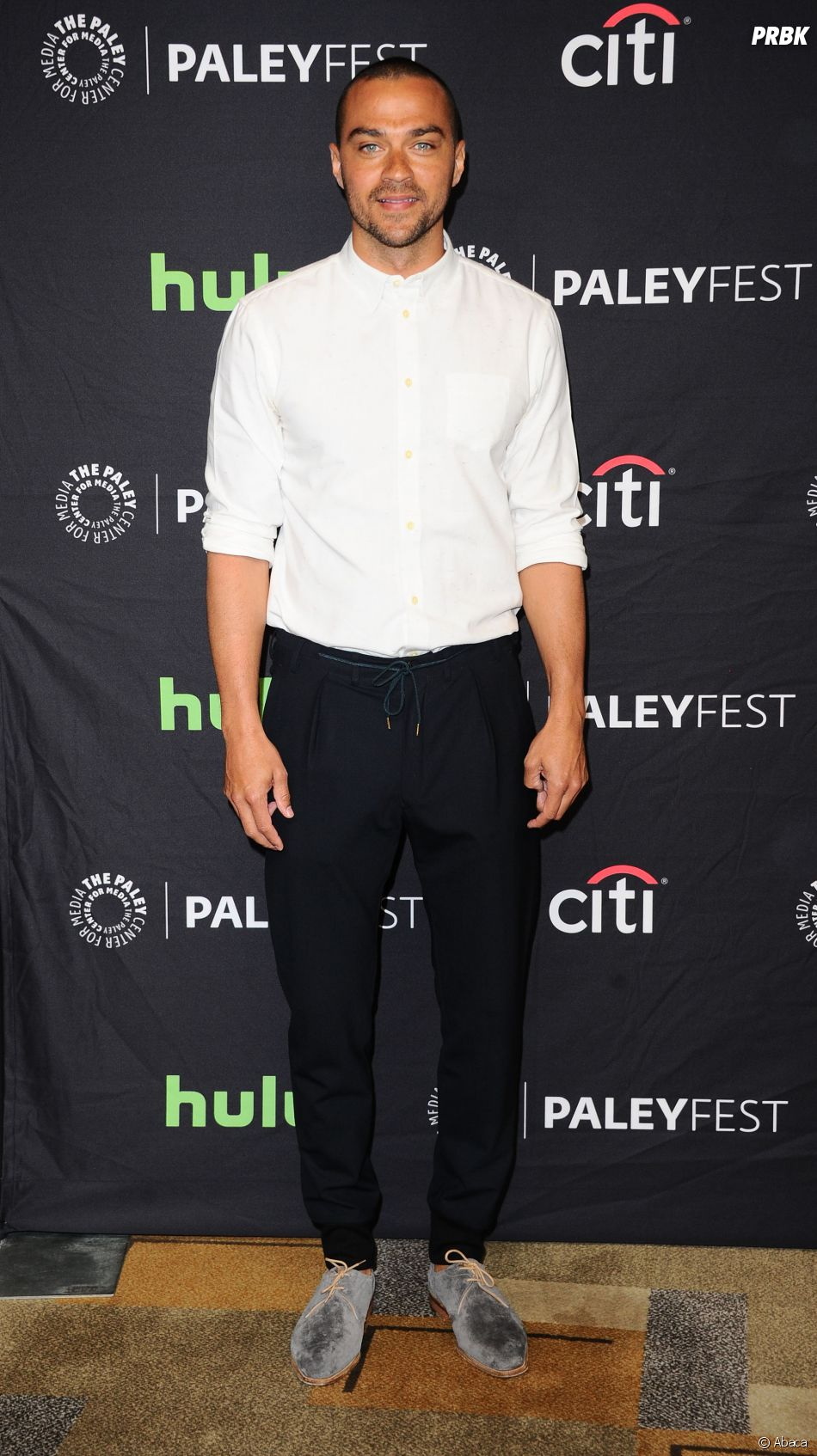 Jesse Williams au PaleyFest le 19 mars 2016