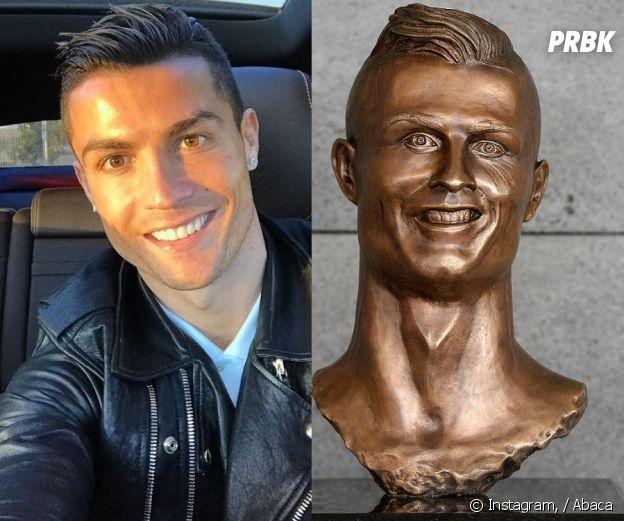 Cristiano Ronaldo : la statue en l'honneur de CR7 moquée sur Twitter, le sculpteur réagit !
