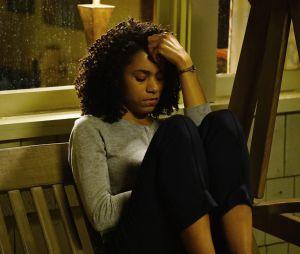Grey's Anatomy saison 13, épisode 19 : Maggie (Kelly McCreary) sur une photo