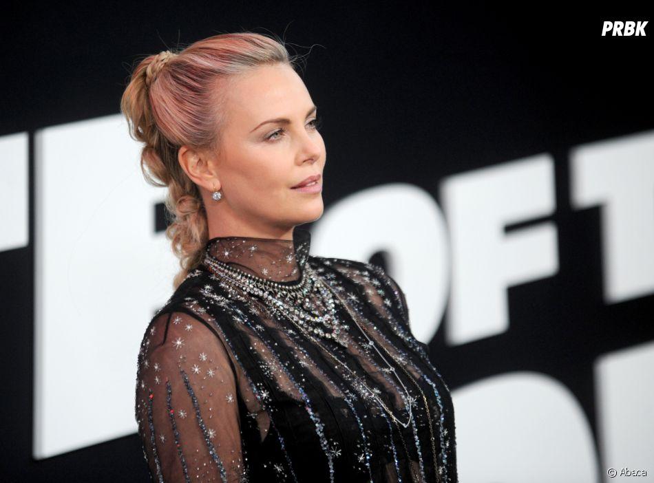 Charlize Theron à l'avant-première de Fast and Furious 8 le 8 avril à New York