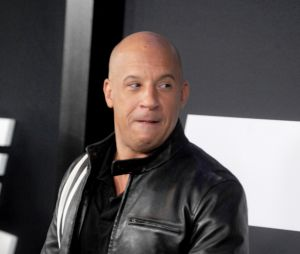 Vin Diesel à l'avant-première de Fast and Furious 8 le 8 avril à New York