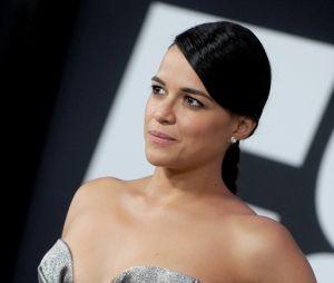 Michelel Rodriguez sexy à l'avant-première de Fast and Furious 8 le 8 avril à New York